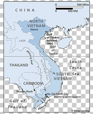 Gulf Of Tonkin Incident World Map United States PNG