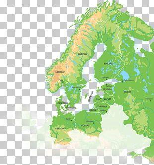 Europe World Map Blank Map Globe PNG