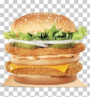 Big King Hamburger Chicken Sandwich KFC Whopper PNG