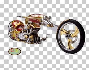 Custom Motorcycle Bicycle Chopper Sport Bike PNG