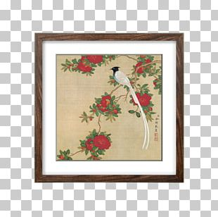 Bird-and-flower Painting Art Chinese Painting Ink Wash Painting PNG