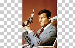 Roger Moore Live And Let Die James Bond Actor Photography PNG