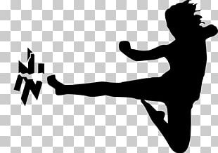 Karate Martial Arts Flying Kick PNG