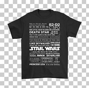 T-shirt Squadra Delta Star Wars Logo Font PNG