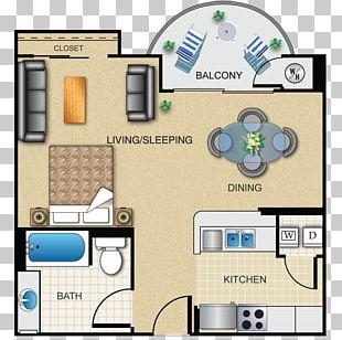 Floor Plan Studio Apartment House Loft PNG