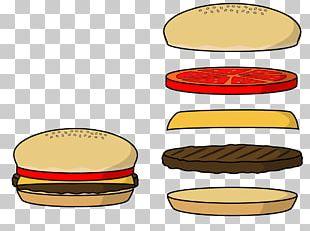 Hamburger Cheeseburger Hot Dog Fast Food Veggie Burger PNG