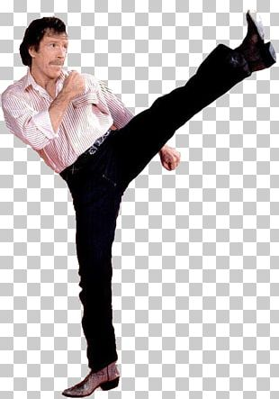 Chuck Norris Karate Black Belt PNG