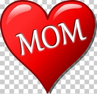 Mother's Day Heart PNG