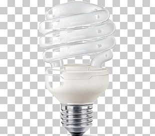Incandescent Light Bulb Edison Screw Compact Fluorescent Lamp PNG