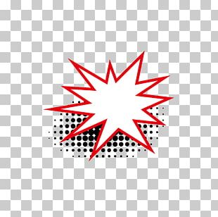 Red Tree Star Pattern PNG