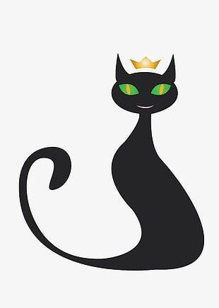 Crown Cat PNG