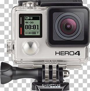 GoPro Hero 4 GoPro HERO4 Black Edition Action Camera PNG