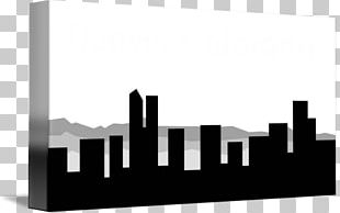 Creative City Logo Skyline Black And White PNG