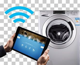 Smartphone Washing Machine Home Automation Home Appliance PNG