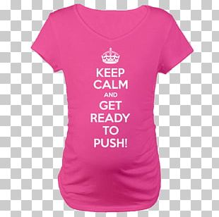 T-shirt Keep Calm And Carry On Clothing Crown Gift PNG