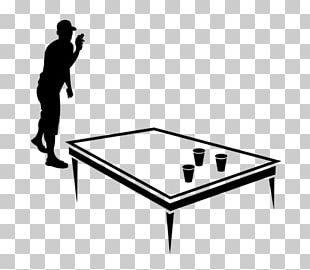 Table Beer Pong Must Alcoholic Drink PNG