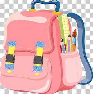 Bag School Backpack PNG