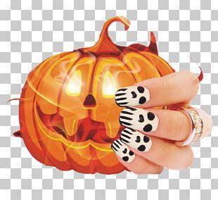 Jack-o-lantern Nail Calabaza Pumpkin PNG