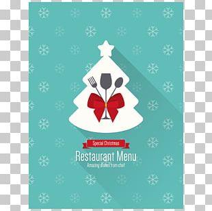 Menu Christmas Restaurant PNG