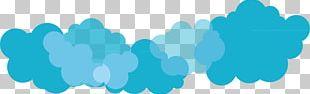 Cloud Blue Euclidean Computer File PNG