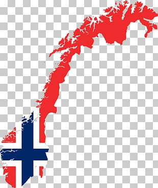 Flag Of Norway World Map PNG