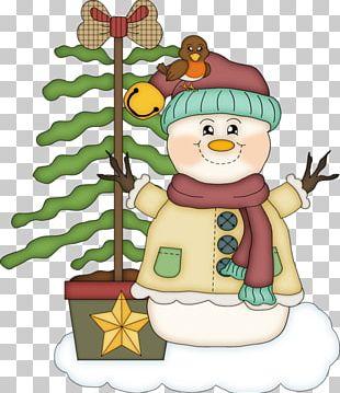 Olaf Snowman Christmas PNG