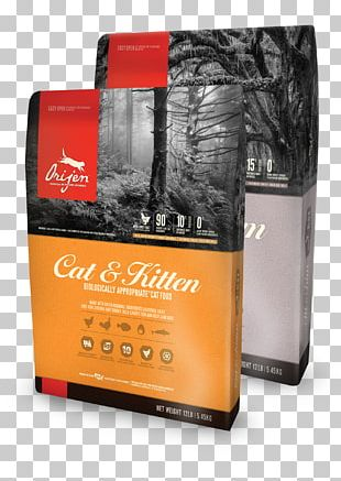 Cat Food Kitten Dog Orijen PNG