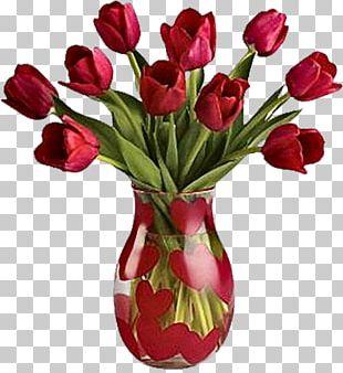 Vase Flower June's Floral Company PNG