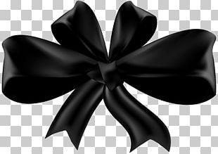 Black Ribbon PNG