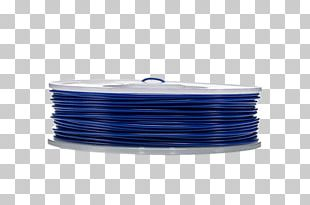 Dubai Polylactic Acid Ultimaker Blue 3D Printing Filament PNG