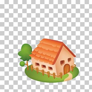 House Drawing Cartoon Painting PNG