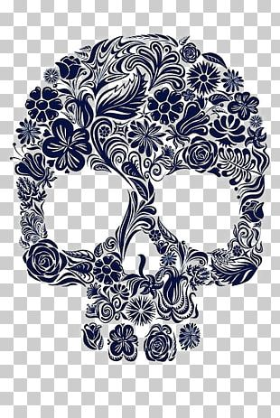 IPhone 5s T-shirt Skull Flower Clothing PNG