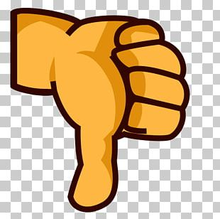 Thumb Signal Emoji Gesture PNG