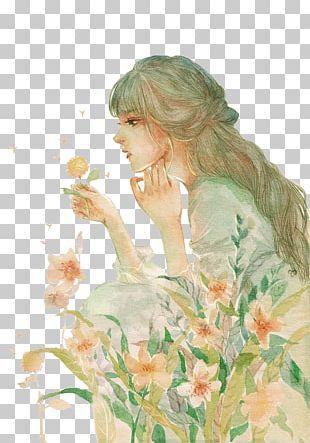 Watercolor Painting Drawing Art Fashion Illustration Illustration PNG