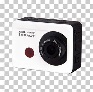 GoXtreme Impact Full HD Action Camera Black Camera Lens Digital Cameras PNG