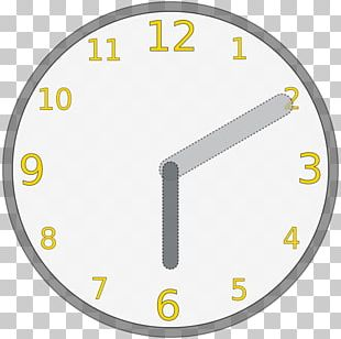 Digital Clock Drawing Time PNG
