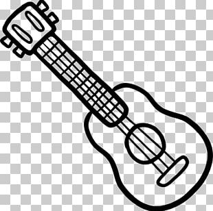 String Instruments Guitar White PNG