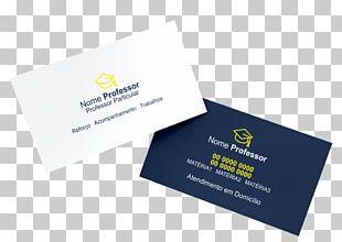 Business Cards Credit Card Teacher Logo Cardboard PNG