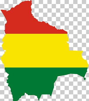 Flag Of Bolivia Map Stock Photography PNG