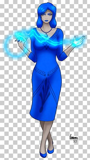 Illustration Costume Electric Blue Cartoon Character PNG