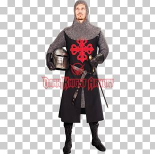Middle Ages Crusades Tunic Knight Surcoat PNG