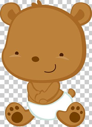 Teddy Bear Baby Shower PNG