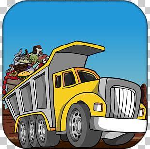 Commercial Vehicle Car Dump Truck PNG