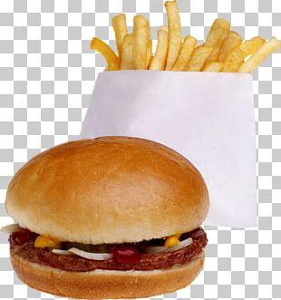 Hamburger French Fries Cheeseburger Fast Food Hot Dog PNG