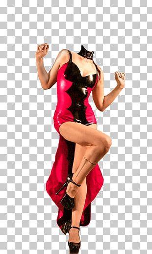 Modern Dance Costume Magenta PNG
