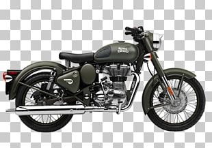 "Royal Enfield Bullet ""Classic"" 500 Enfield Cycle Co. Ltd Motorcycle PNG"