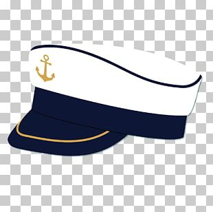 Sailor Cap Hat Navy PNG