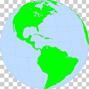 United States South America Globe Latin America Map PNG