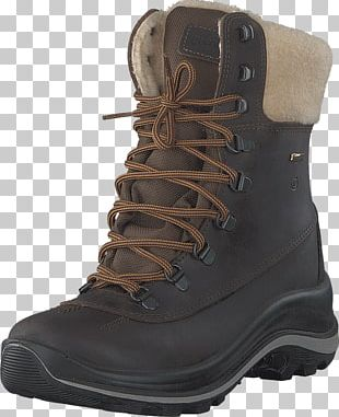 Boot Shoe Brown Woman Leather PNG