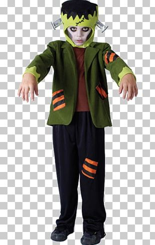 Frankenstein's Monster Disguise Costume Child PNG